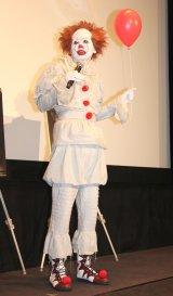 映画『IT/イット それが見えたら、終わり。』の絶叫上映イベントに出席したアンガールズ・田中卓志 (C)ORICON NewS inc.
