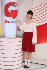 日本テレビ系週末夜のスポーツ報道番組『Going!Sports&News』(毎週土曜、日曜日 後11:55〜)の新お天気キャスターに決定した水谷果穂