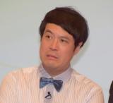 テレビ朝日の入社式に出席したタカアンドトシ・タカ(C)ORICON NewS inc.