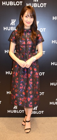 高梨臨=『HUBLOT LOVES FOOTBALL Special Exhibition 開催記念イベント』後インタビュー (C)ORICON NewS inc.