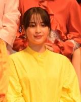 映画『SUNNY(サニー)強い気持ち・強い愛』(8月31日公開)の完成披露舞台あいさつに出席した広瀬すず