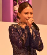 映画『SUNNY(サニー)強い気持ち・強い愛』(8月31日公開)の完成披露舞台あいさつに出席した山本舞香