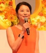 映画『SUNNY(サニー)強い気持ち・強い愛』(8月31日公開)の完成披露舞台あいさつに出席した小池栄子