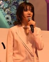 映画『SUNNY(サニー)強い気持ち・強い愛』(8月31日公開)の完成披露舞台あいさつに出席した池田エライザ