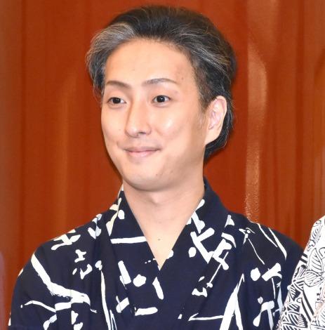 歌舞伎座『八月納涼歌舞伎』囲み取材に出席した中村七之助 (C)ORICON NewS inc.