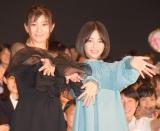 気合の入ったシーンのカットを嘆いた(左から)篠原涼子、広瀬すず (C)ORICON NewS inc.
