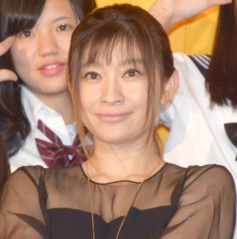 映画『SUNNY(サニー)強い気持ち・強い愛』女子限定制服試写会に出席した篠原涼子 (C)ORICON NewS inc.