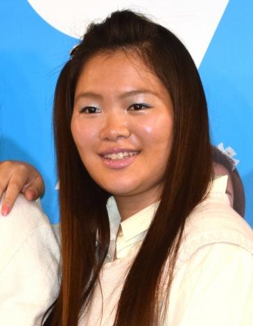 映画『SUNNY(サニー)強い気持ち・強い愛』の公開記念イベントに出席した富田望生 (C)ORICON NewS inc.