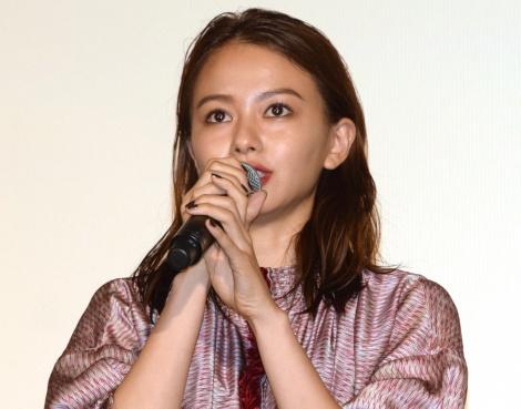 映画『SUNNY(サニー)強い気持ち・強い愛』の初日舞台あいさつに出席した山本舞香 (C)ORICON NewS inc.