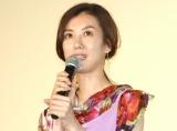 映画『SUNNY(サニー)強い気持ち・強い愛』の初日舞台あいさつに出席したともさかりえ (C)ORICON NewS inc.