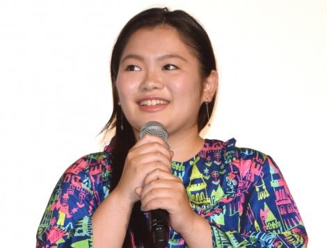 映画『SUNNY(サニー)強い気持ち・強い愛』の初日舞台あいさつに出席した富田望生 (C)ORICON NewS inc.