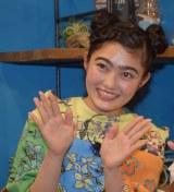 CBC、TBS系の特別番組『出川澤部の見知らぬ二人が人生交換したら○○がわかった!』の収録に参加した井上咲楽 (C)ORICON NewS inc.