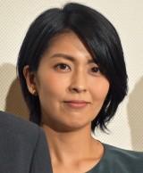『泣き虫しょったんの奇跡』公開初日舞台あいさつに登壇した松たか子 (C)ORICON NewS inc.