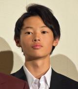人生初の舞台あいさつに登壇した窪塚愛流 (C)ORICON NewS inc.