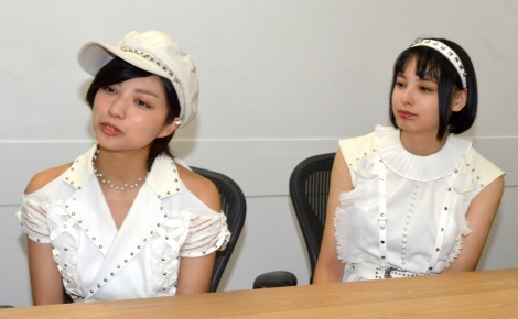 ベイビーレイズJAPAN(左から)高見奈央、渡邊璃生 (C)ORICON NewS inc.