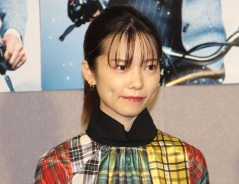 NHK連続ドラマ『主婦カツ!』試写会後会見に登場した島崎遥香 (C)ORICON NewS inc.