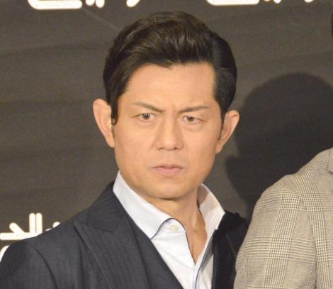 『天 天和通りの快男児』試写会後会見に出席した的場浩司 (C)ORICON NewS inc.