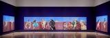 新作大型原画「裏切り者は常にいる」 東京会場展示風景