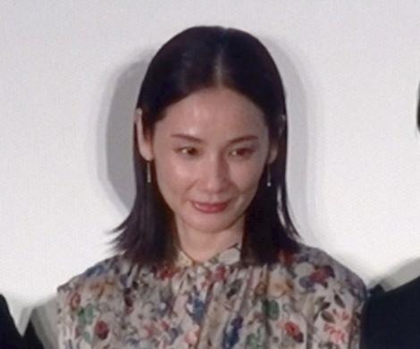 映画『ハナレイ・ベイ』(19日公開)プレミア上映会に出席した吉田羊 (C)ORICON NewS inc.