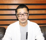 『バレル展』で音声ガイドを務める大塚明夫 (C)ORICON NewS inc.