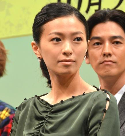 ドラマ『僕らは奇跡でできている』の制作発表会見に参加した榮倉奈々 (C)ORICON NewS inc.