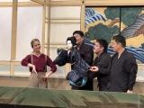 『じょんのび日本遺産』で淡路人形浄瑠璃を体験するナタリー・エモンズ (C)TBS
