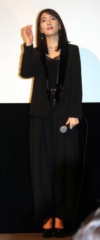 知英=映画『殺る女』完成披露上映会 (C)ORICON NewS inc.