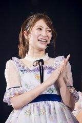アパレルブランド立ち上げを発表したNMB48の吉田朱里(C)NMB48