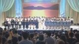 アンジェラ、四国のテーマ曲制作