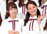 College Cosmos(左から)山木梨沙、松井まり (C)ORICON NewS inc.