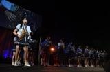 ラストナンバー「瀬戸内の声」では瀧野由美子がサックス、兵頭葵がピアノ演奏(C)STU
