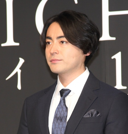 山田孝之 =映画『デイアンドナイト』完成報告会見 (C)ORICON NewS inc.