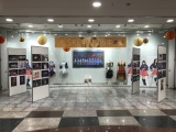 ESCAではSKE48劇場デビュー10周年記念特別展示を実施(C)AKS