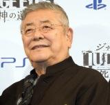 『PlayStation LineUp Tour』の『JUDGE EYES:死神の遺言』発表会に登場した中尾彬 (C)ORICON NewS inc.