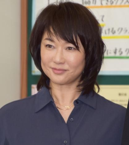 『中学聖日記』の制作発表会見に参加した夏川結衣 (C)ORICON NewS inc.
