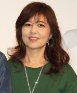 『single mom 優しい家族。a sweet family』舞台あいさつに登壇した石野真子 (C)ORICON NewS inc.