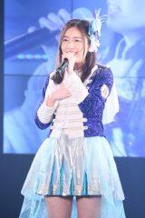 1期生ユニット曲「神々の領域」を1人で熱唱した松井珠理奈(C)AKS