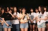 SKE48キャプテン・斉藤真木子が感極まりながらあいさつ=『SKE48 10周年記念特別公演(後編)』より(C)AKS