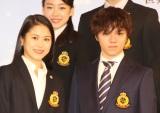 20日に開幕する『フィギュアスケートグランプリシリーズ・ファイナル2018』記者発表に出席した(左から)宮原知子選手、宇野昌磨選手 (C)ORICON NewS inc.