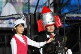 TBS『オールスター感謝祭'18秋』逆バンジーを飛んだガリットチュウの福島善成(C)TBS