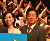 TBS日曜劇場『下町ロケット』完成披露特別試写会後舞台あいさつに登壇した(左から)真矢ミキ、立川談春 (C)ORICON NewS inc.