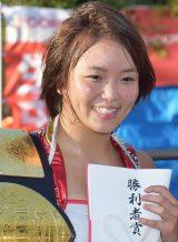 「ブル中野&J:COM 中野 presents 中野人図鑑プロレス スペシャルマッチ」Sareee (C)ORICON NewS inc.
