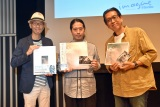 (左から)上柳昌彦、又吉直樹、萩原健太氏 (C)ORICON NewS inc.
