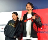 『TOMMY HILFIGER PRESENTS TOKYO ICONS』に来場した二階堂ふみ&金子ノブアキ