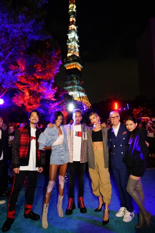 『TOMMY HILFIGER PRESENTS TOKYO ICONS』の模様