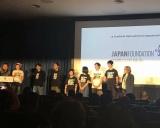 『第51回シッチェス・カタロニア国際ファンタスティック映画祭』のステージに登壇したキャスト7人