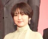 『キングダム』の実写映画製作報告会見に出席した長澤まさみ (C)ORICON NewS inc.