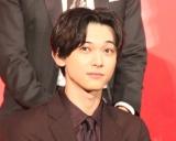 『キングダム』の実写映画製作報告会見に出席した吉沢亮