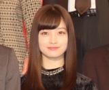 『キングダム』の実写映画製作報告会見に出席した橋本環奈 (C)ORICON NewS inc.