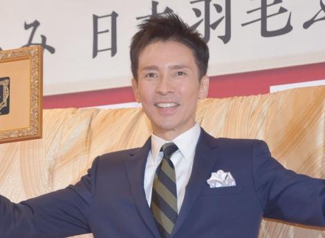 「日本の製品の素晴らしさを伝えていきたい」と意気込んだ郷ひろみ =日本羽毛製品協同組合40周年記念式典 (C)ORICON NewS inc.